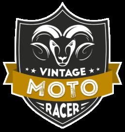 Logo Vintage Moto Racer